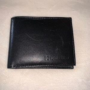 Alpine Swiss Genuine Leather Wallet